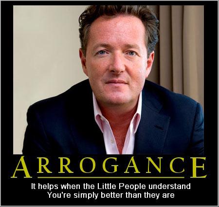 Piers-arrogant