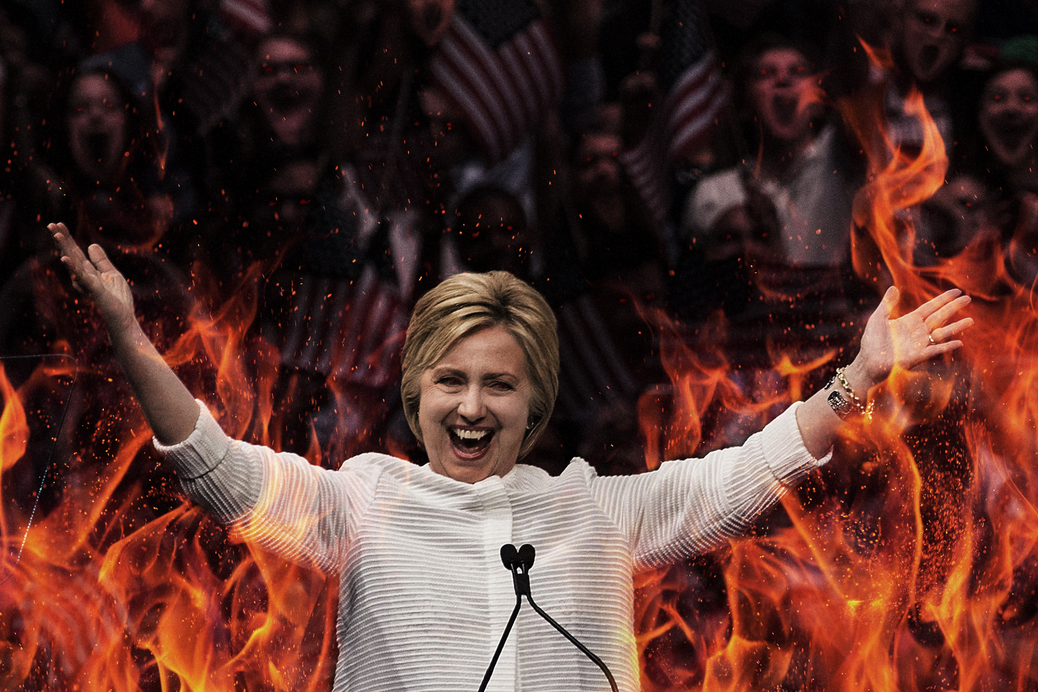 Hilllary Is Evil