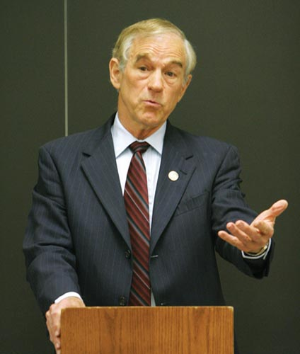 Ron Paul sent some government back to his district… therefore let's have socialism!