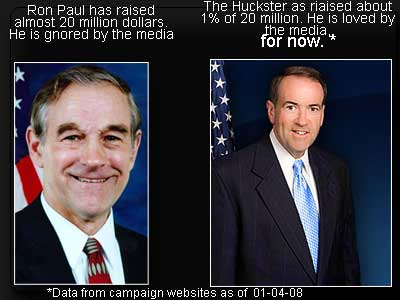 Ron Paul and the Huckster